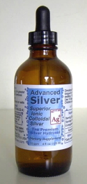 Advanced Silver - Ionic Colloidal Silver Dropper Bottles