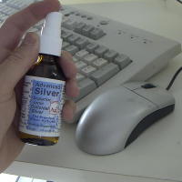 Colloidal Silver for Keyboard and Mouse